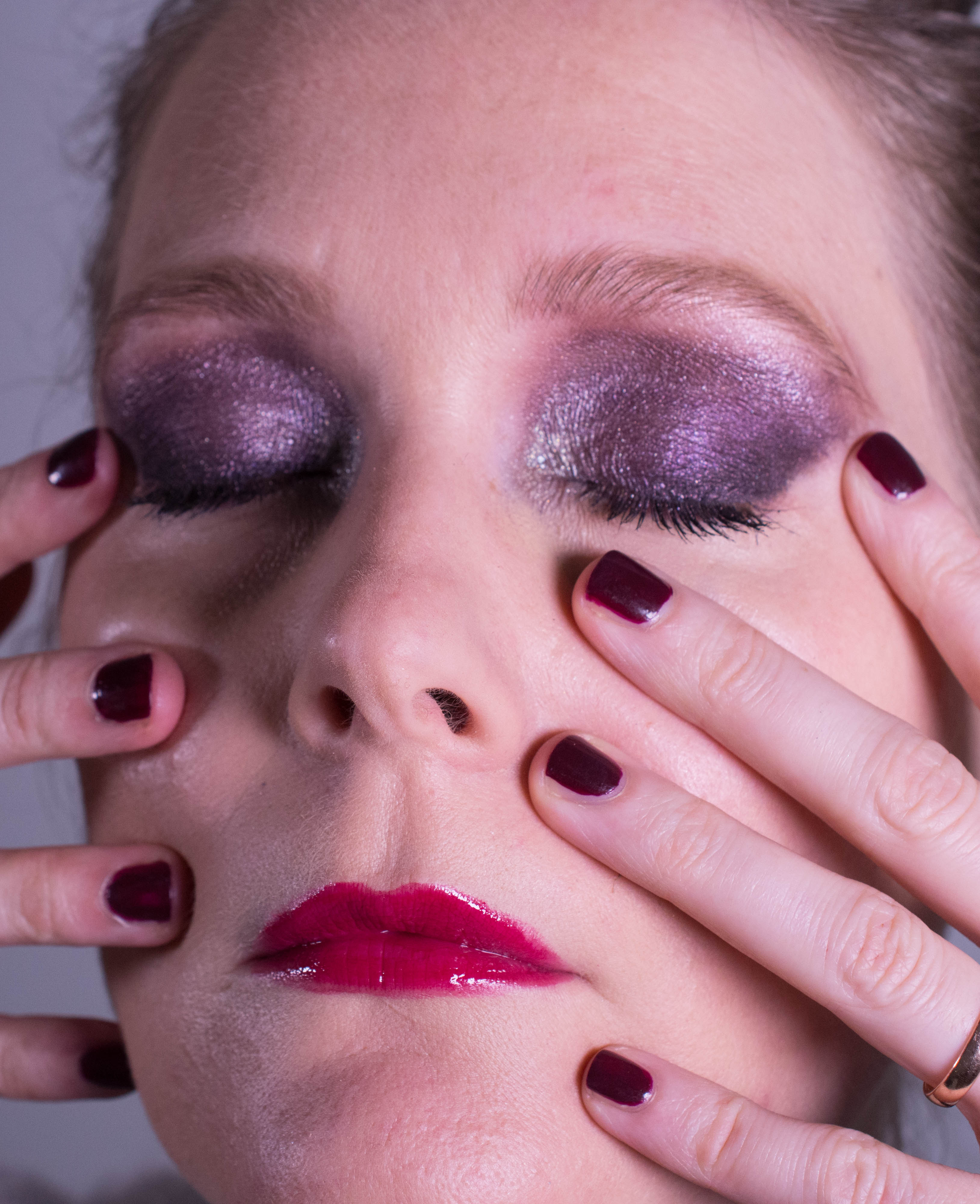 Inspired by Chanel Rouge Noir Absolument Holiday 2015