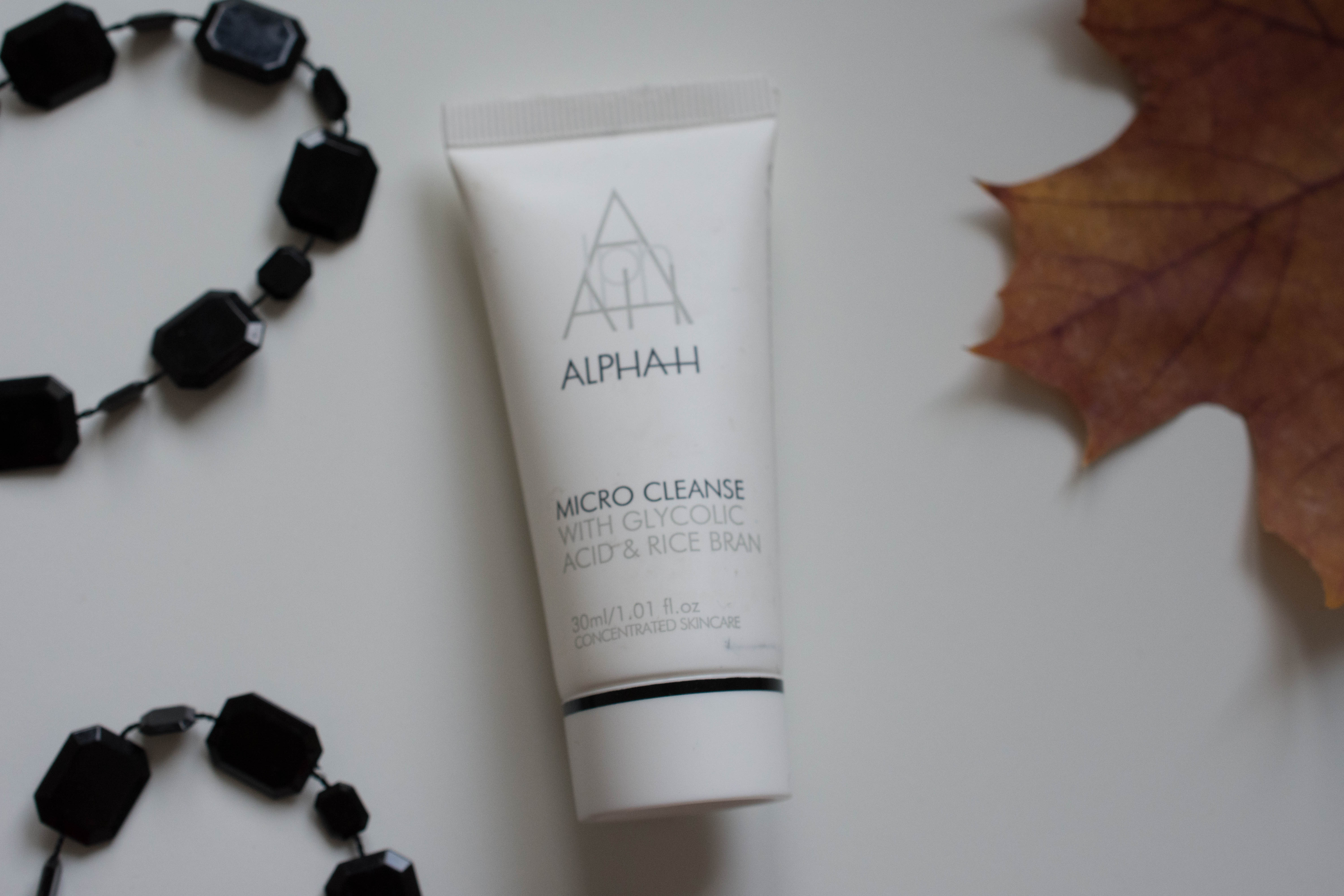 Alpha-H Micro Cleanse with glycol acid & rice bran