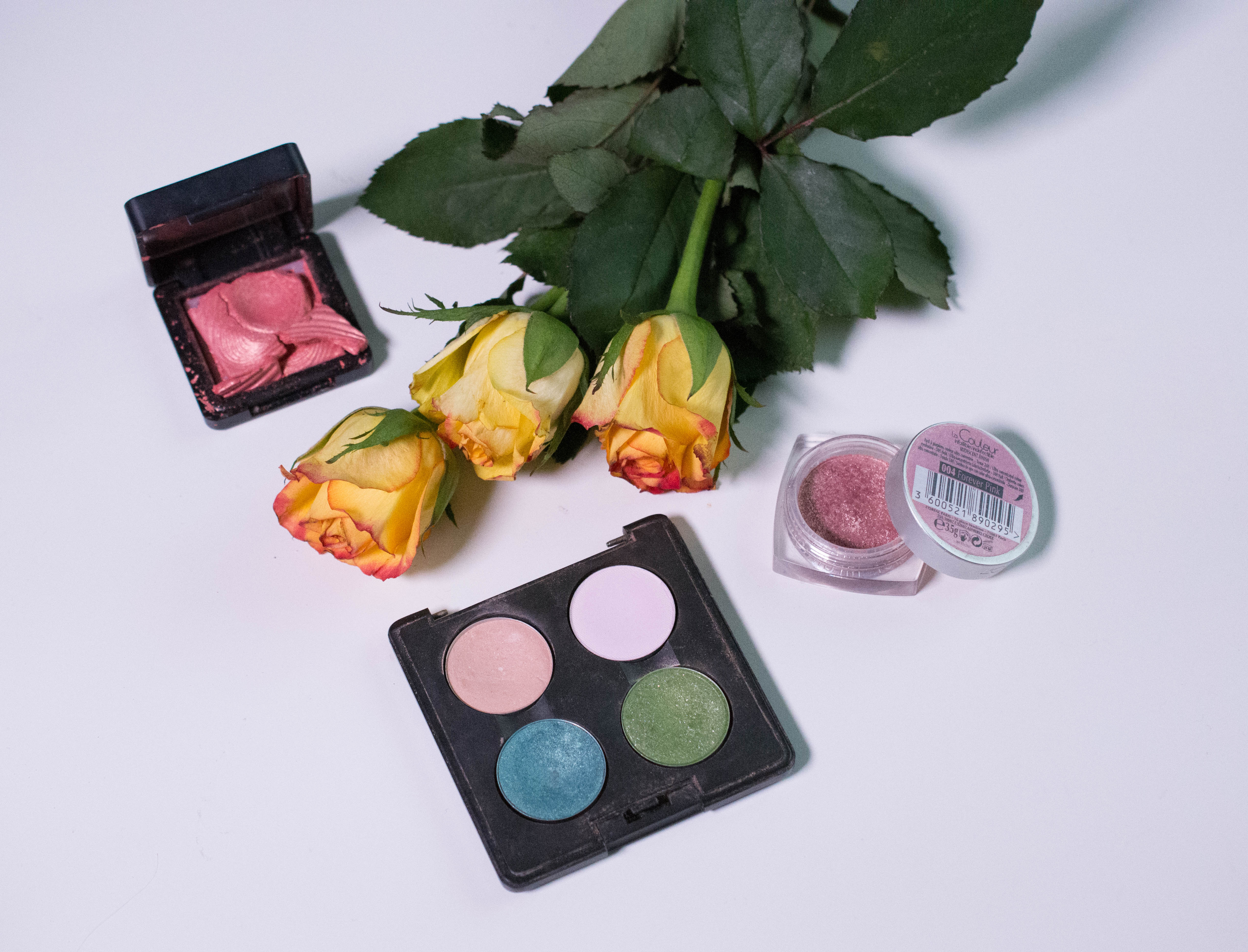 Seasons Makeup Challenge - the eyeshadows