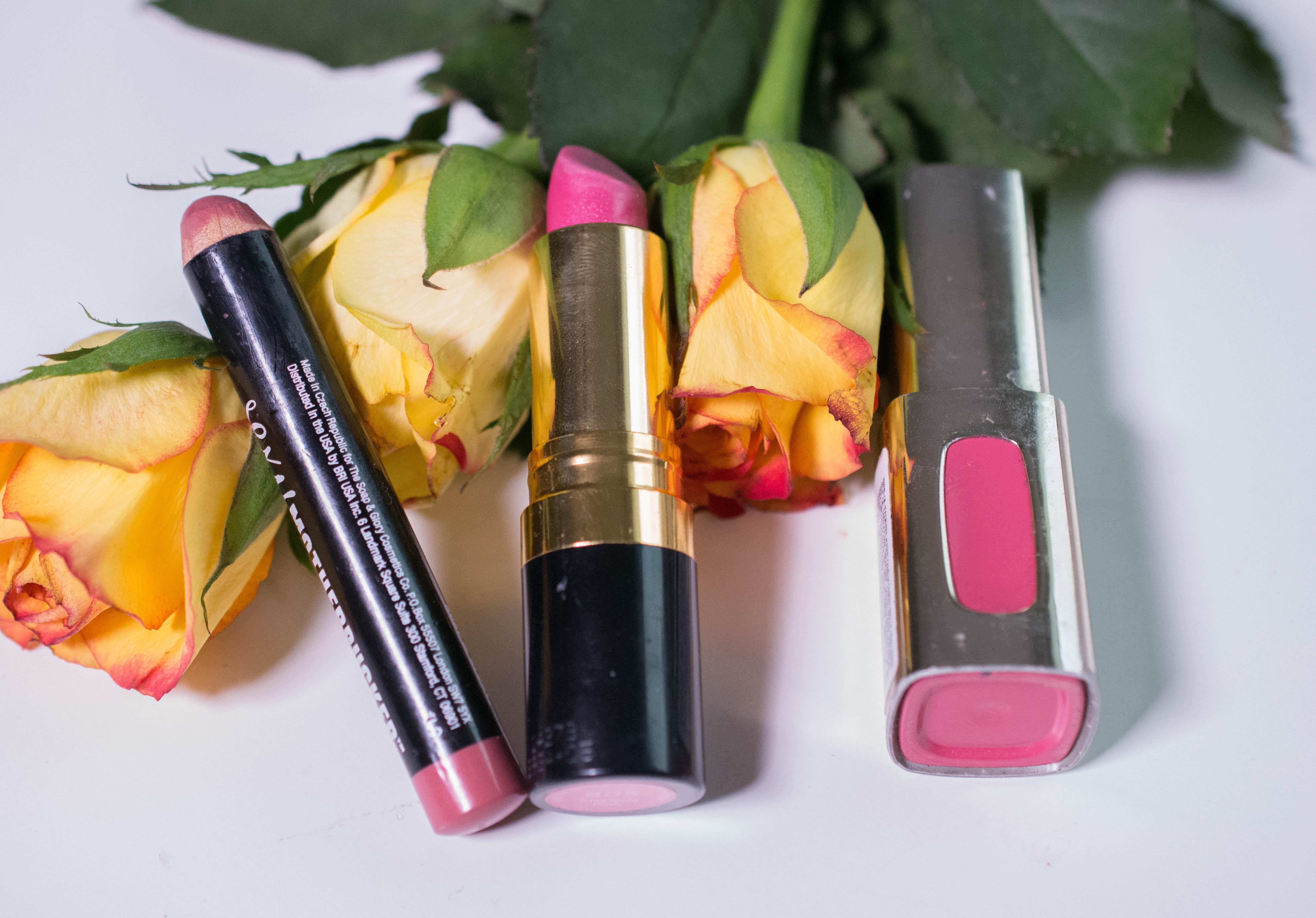 Seasons Makeup Challenge - The Lipsticks