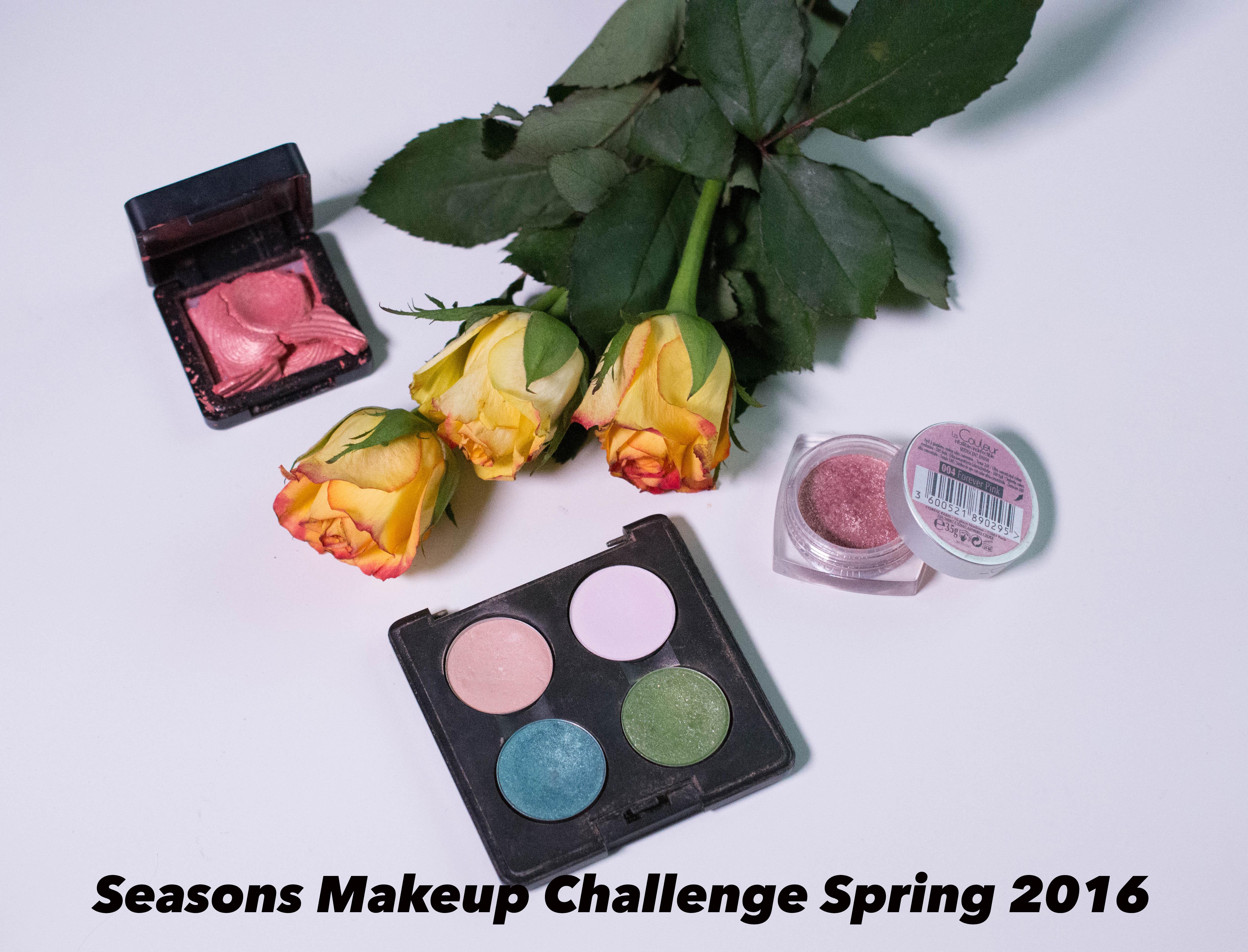 Seasons makup challenge spring 2016 (1 von 4)