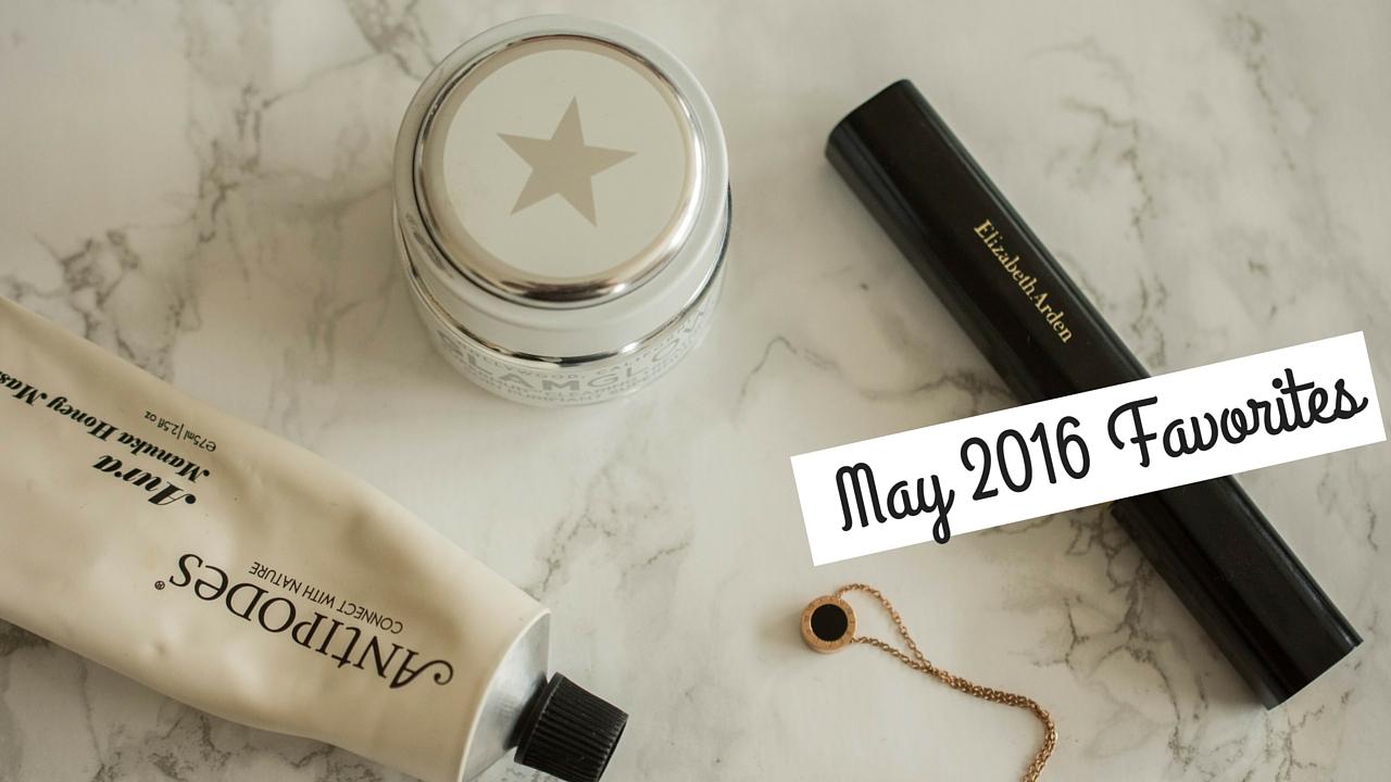 May 2016 Favorites