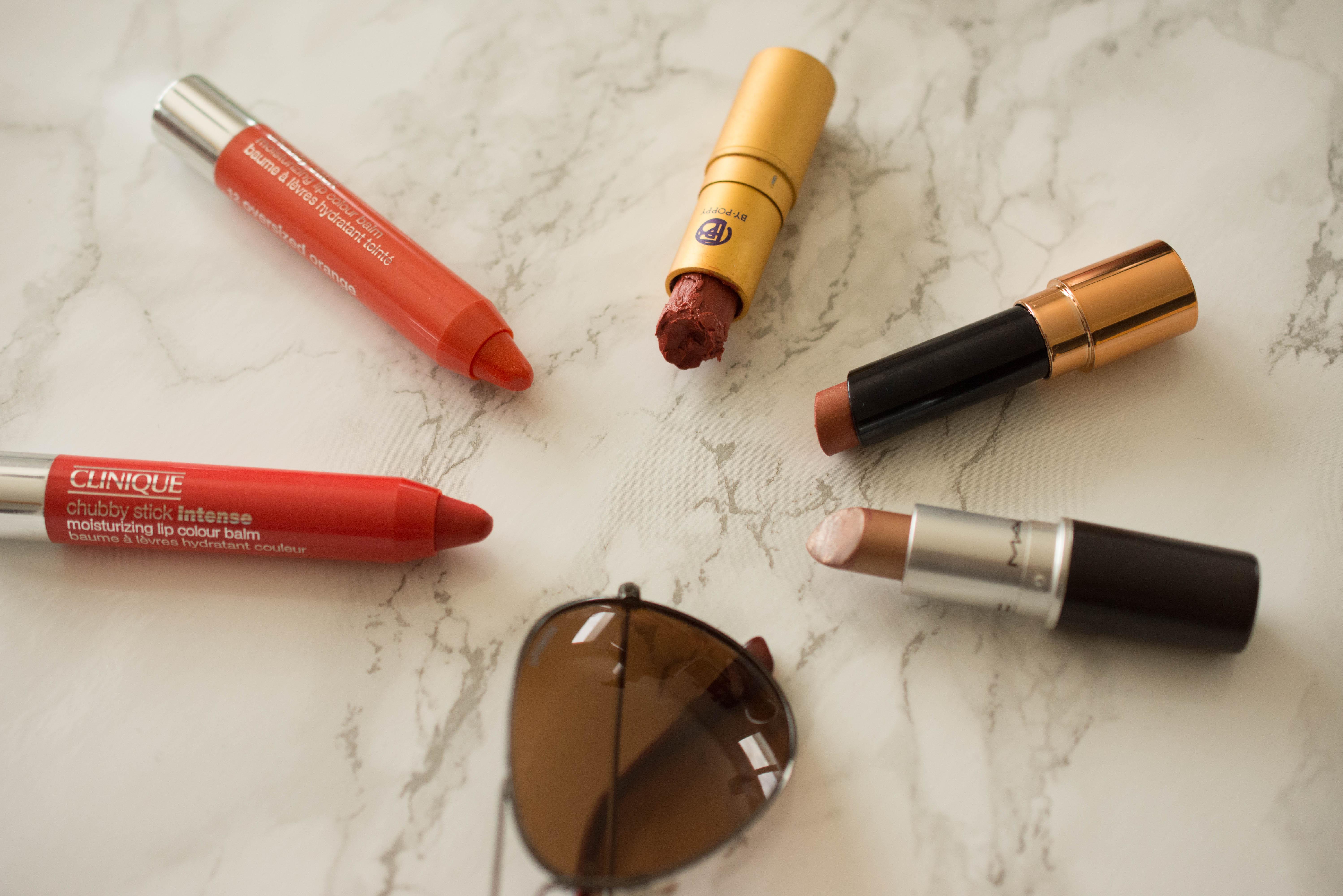 Seasonal Challenge Summer 2016 - The lipsticks