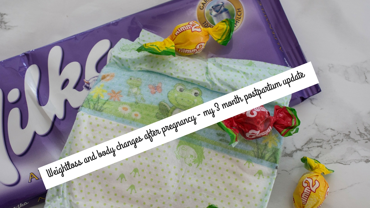 Weight loss and body changes after pregnancy - my 3 month postpartum update