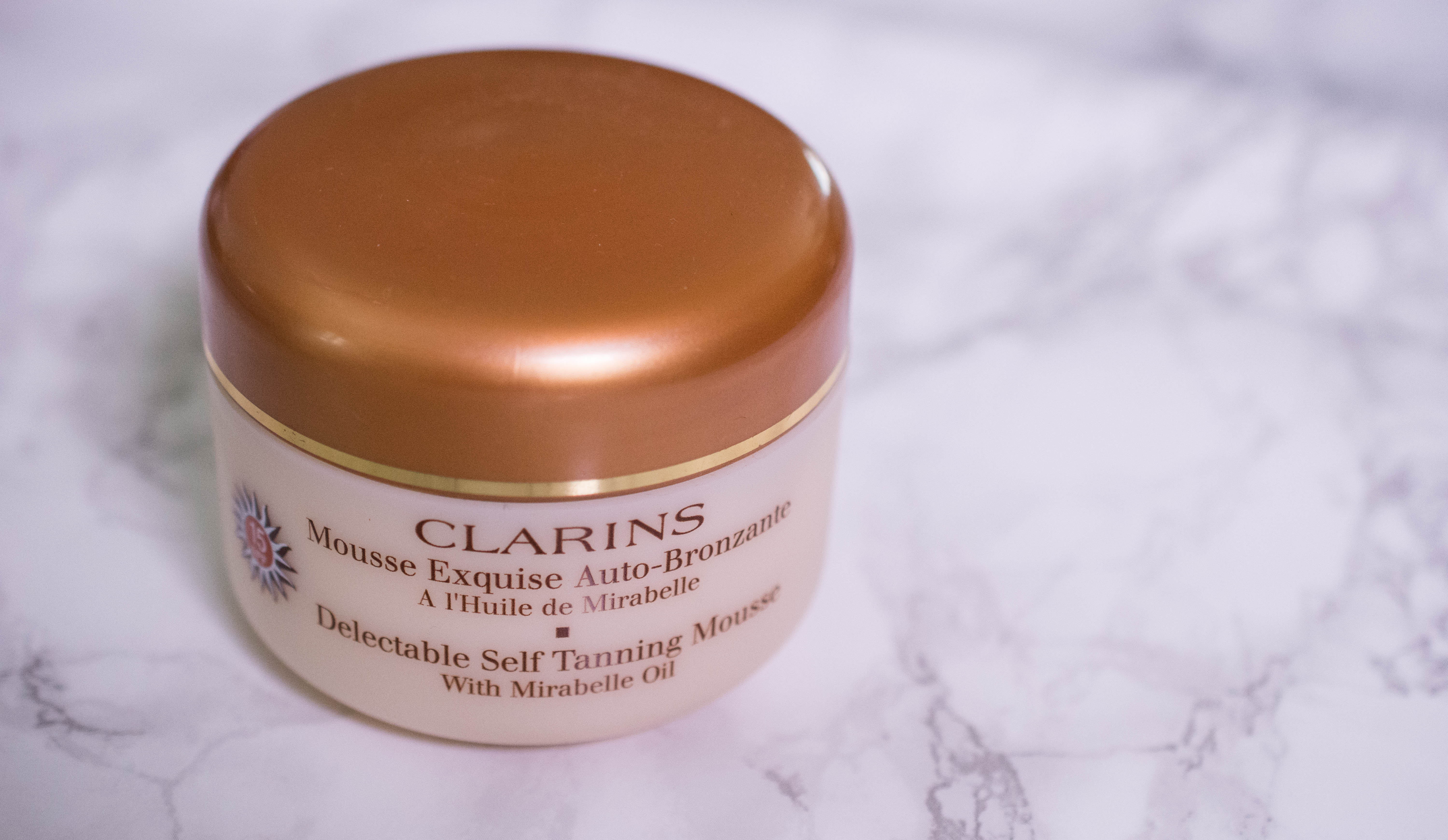 Clarins Delectable Self Tanning Mousse with mirabelle oil (1 von 2)