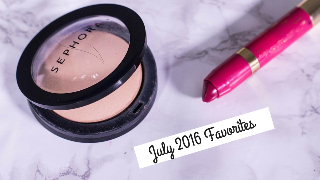 July 2016 Favorites