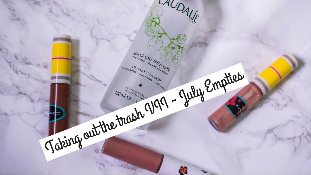 My July Empties