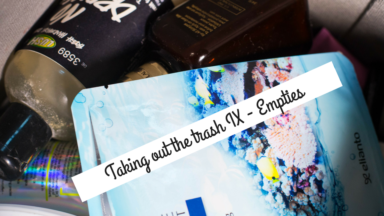 Taking out the trash IX - Empties