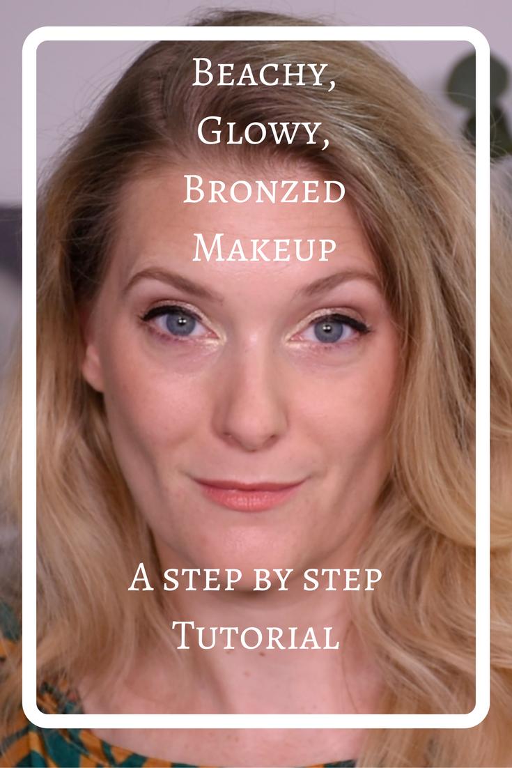 Beachy, Glowy, Bronzed Makeup