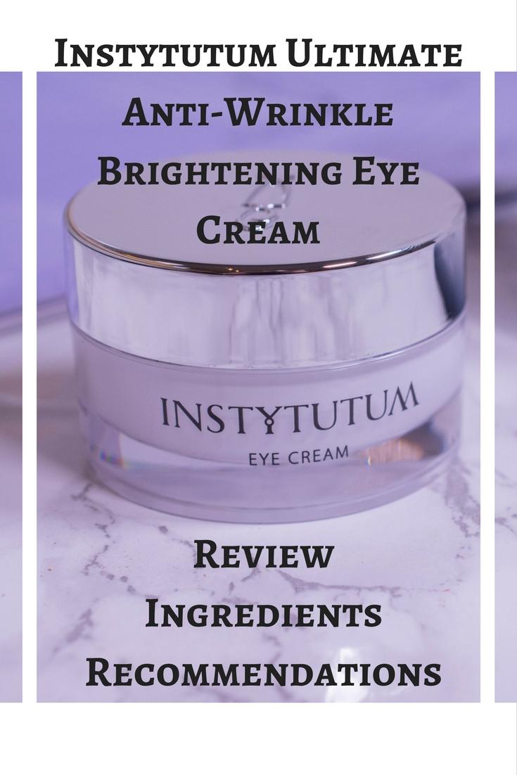 Instytutum Ultimate Anti-Wrinkle Brightening Eye Cream