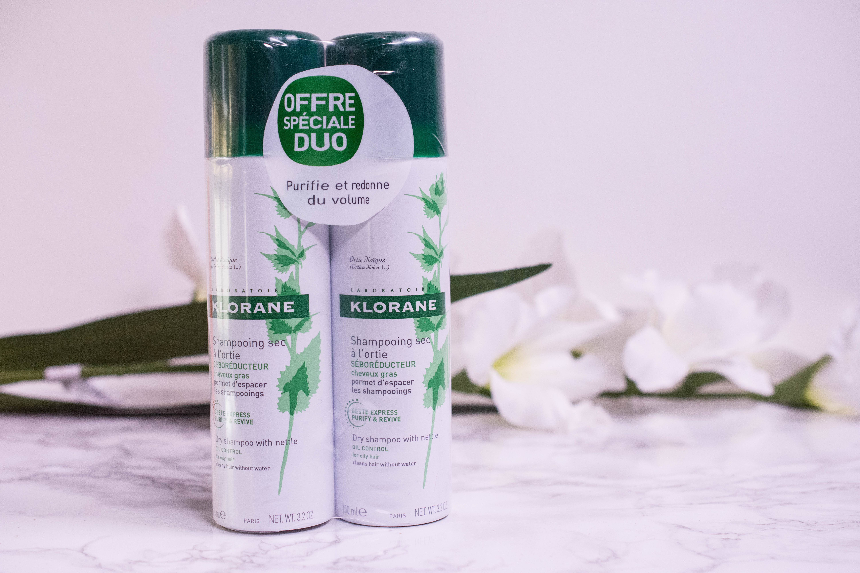 Klorane Dry Shampoo for oily hair