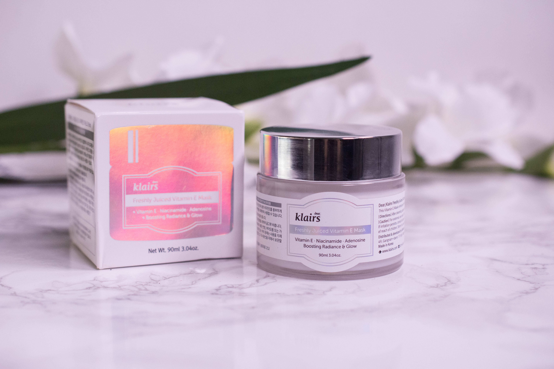dear klairs Freshly Juiced Vitamin E Mask Review