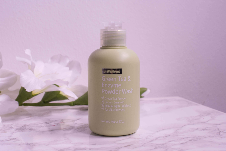 Wishtrend Green Tea & Enzyme Powder Wash