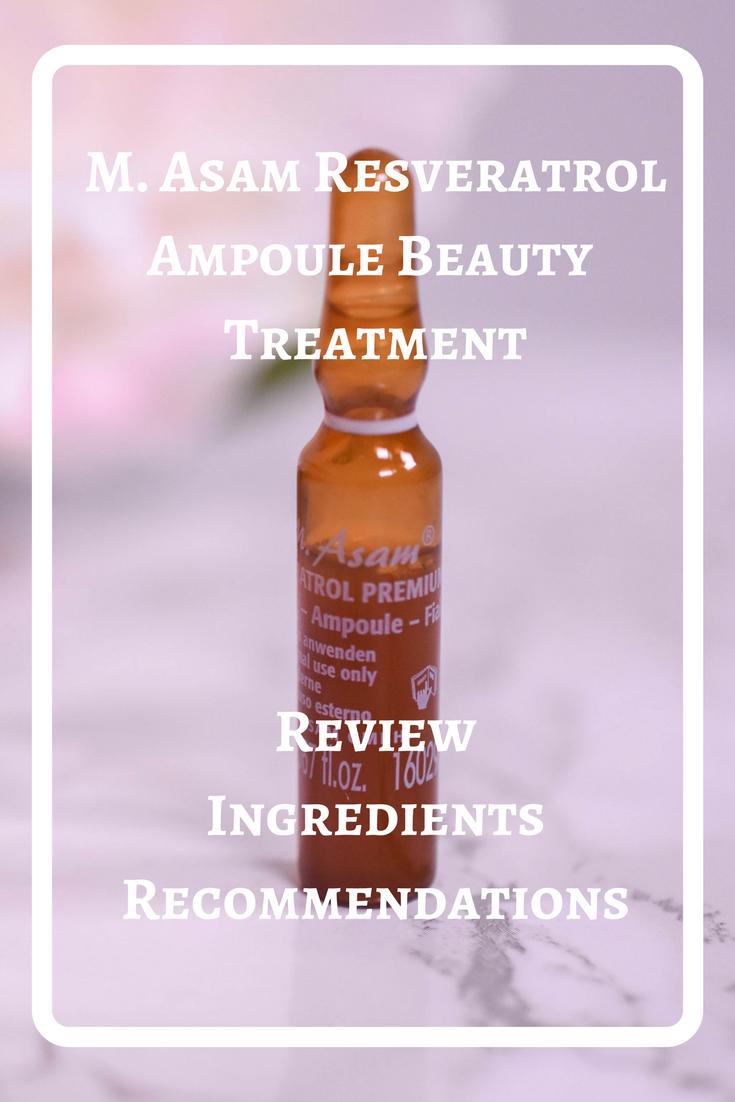 M. Asam Resveratrol Premium Ampoule Beauty Treatment