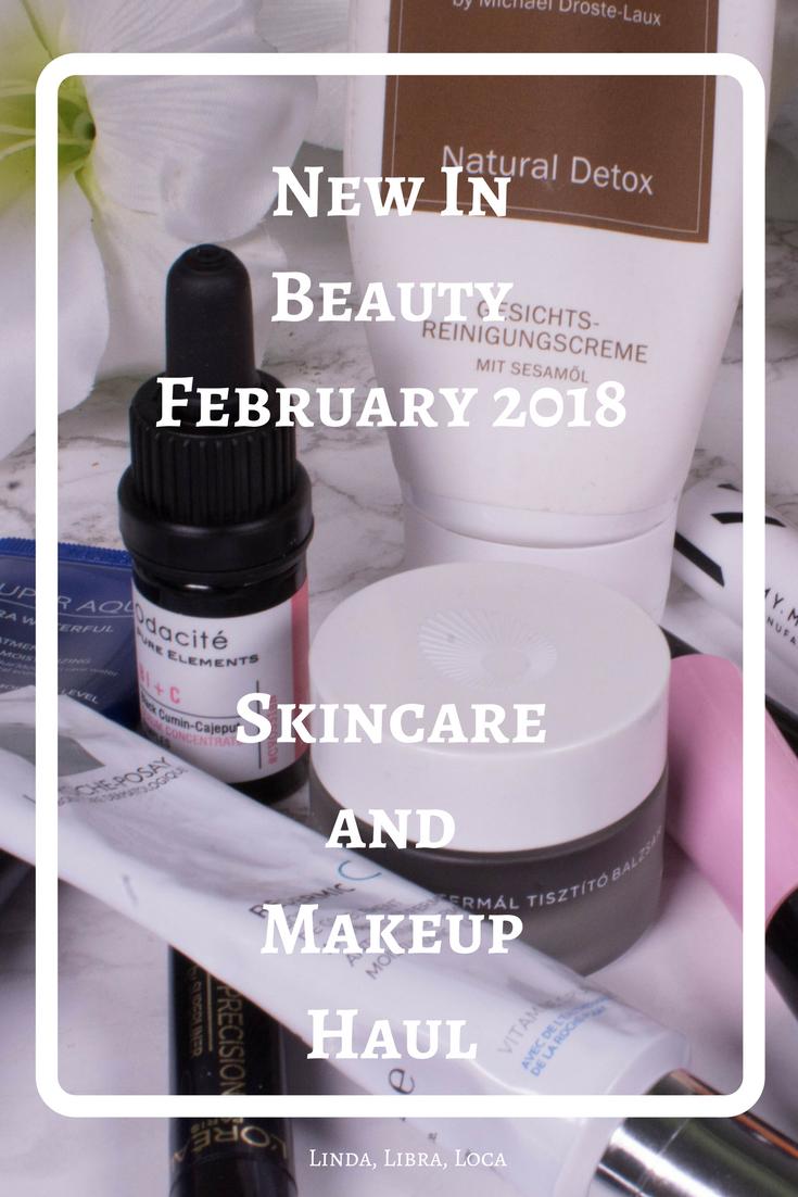 New In Beauty February 2018