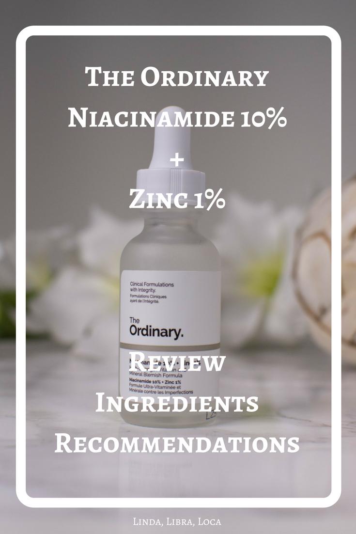 The Ordinary Niacinamide 10% + Zinc 1 %