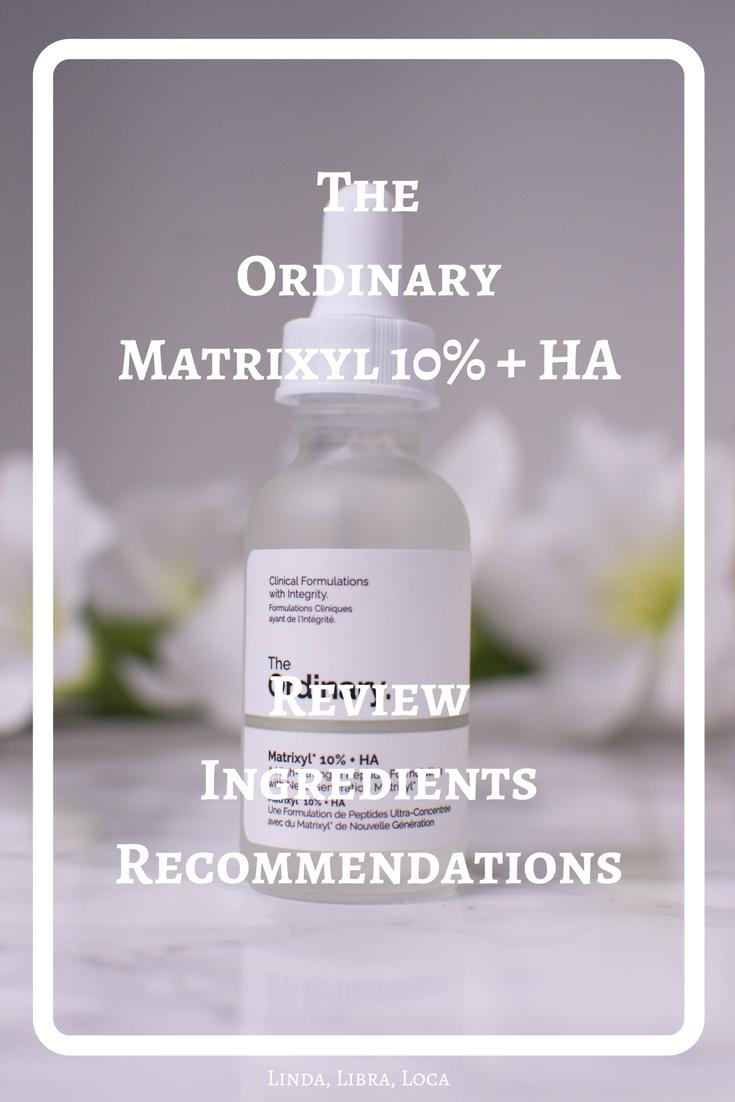 he OrdinaryMatrixyl 10% + HA