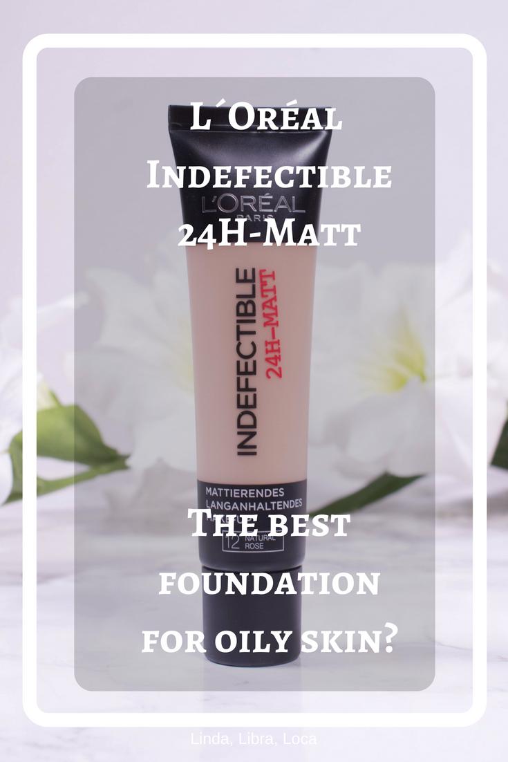 L´Oreal Indefectible 24H-Matt
