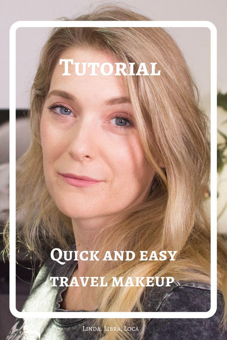 Quick and easy travel makeup