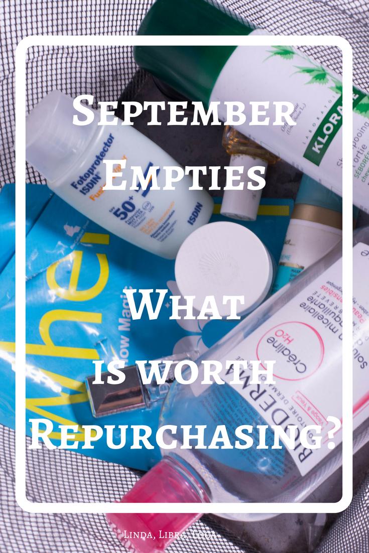 September Empties