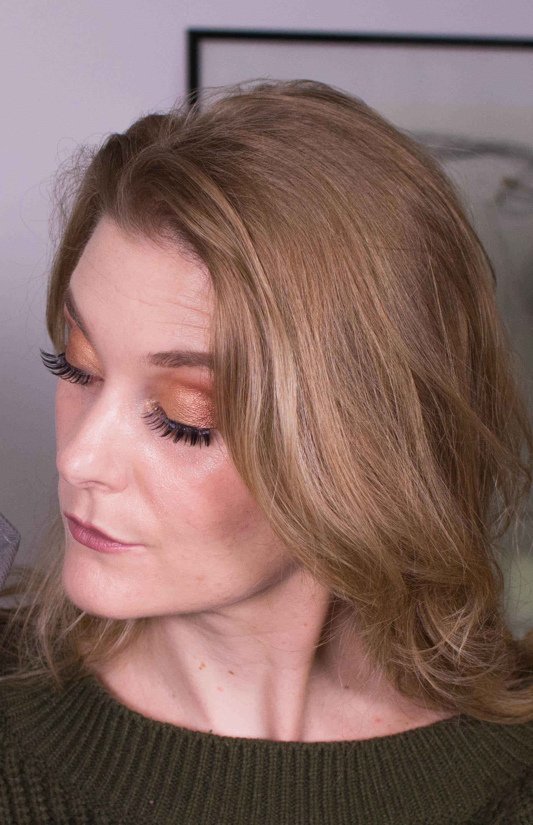 Glam Holiday Makeup