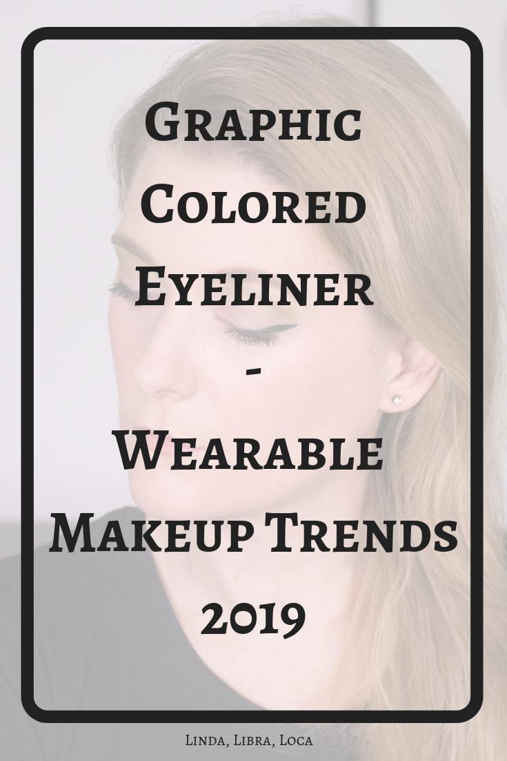 Step by step colored eyeliner tutorial