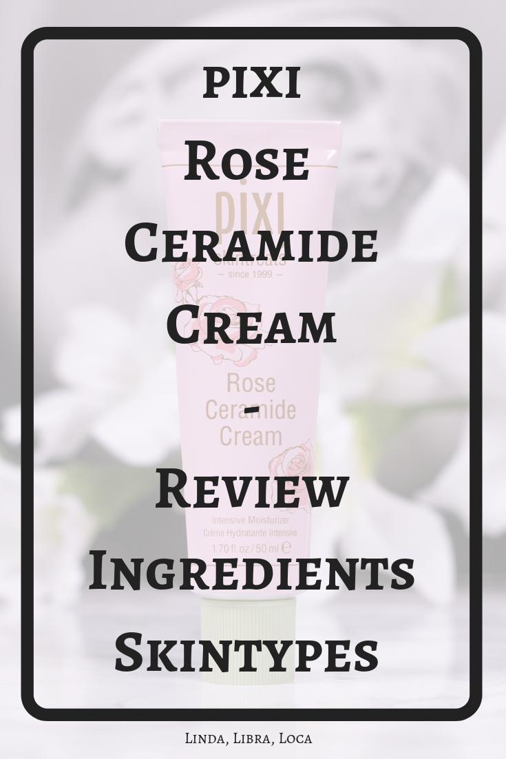 pixi Rose Ceramide Cream Review
