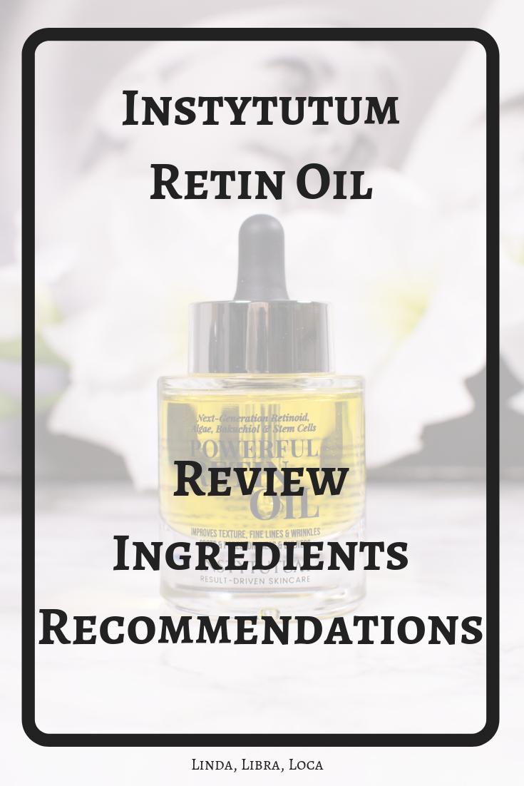 Instytutum Retin Oil Review
