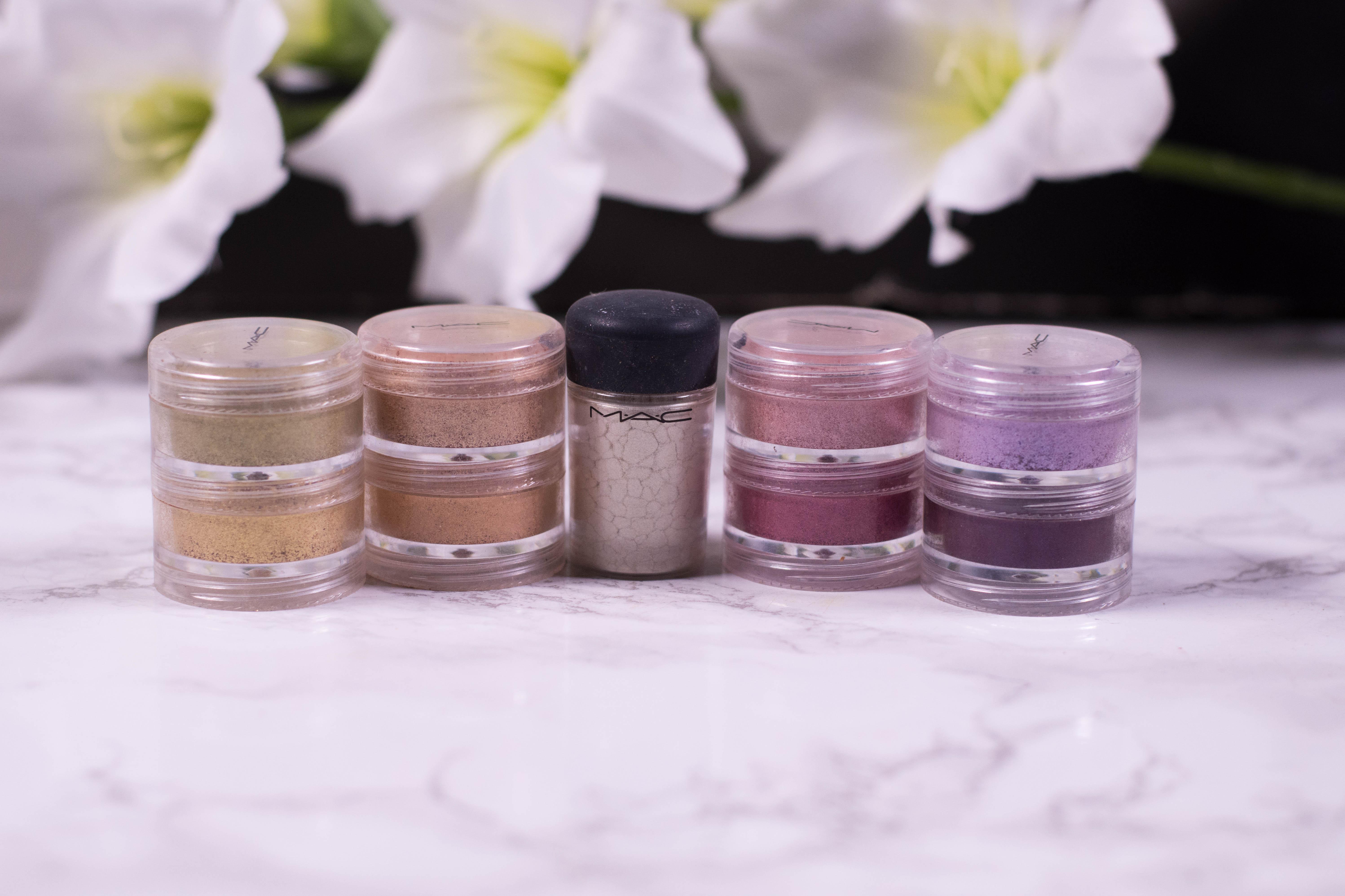Makeup Declutter Eyeshadow