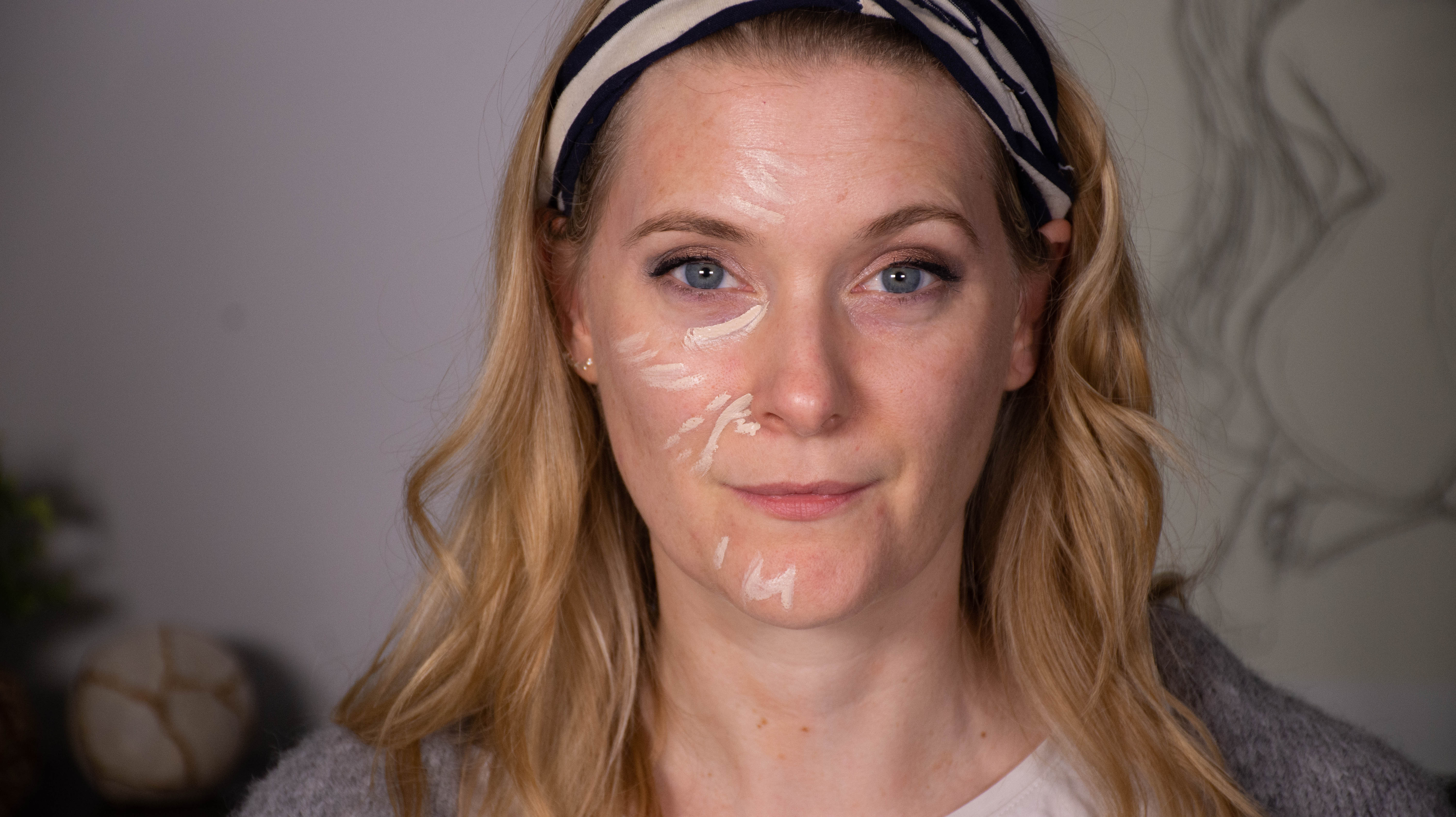 NARS Radiant Creamy Concealer on the face