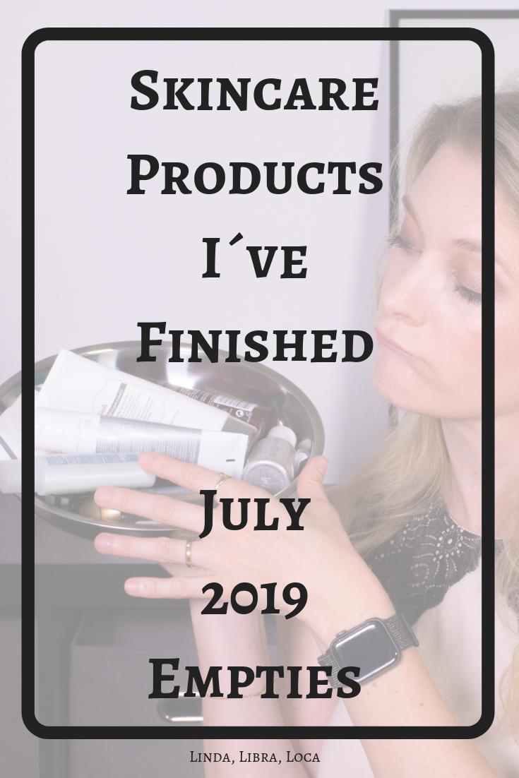Beauty Empties July 2019