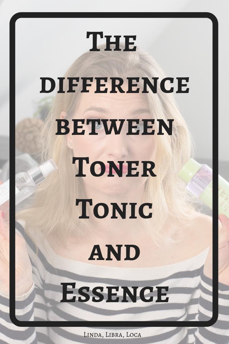 Essence vs Toner