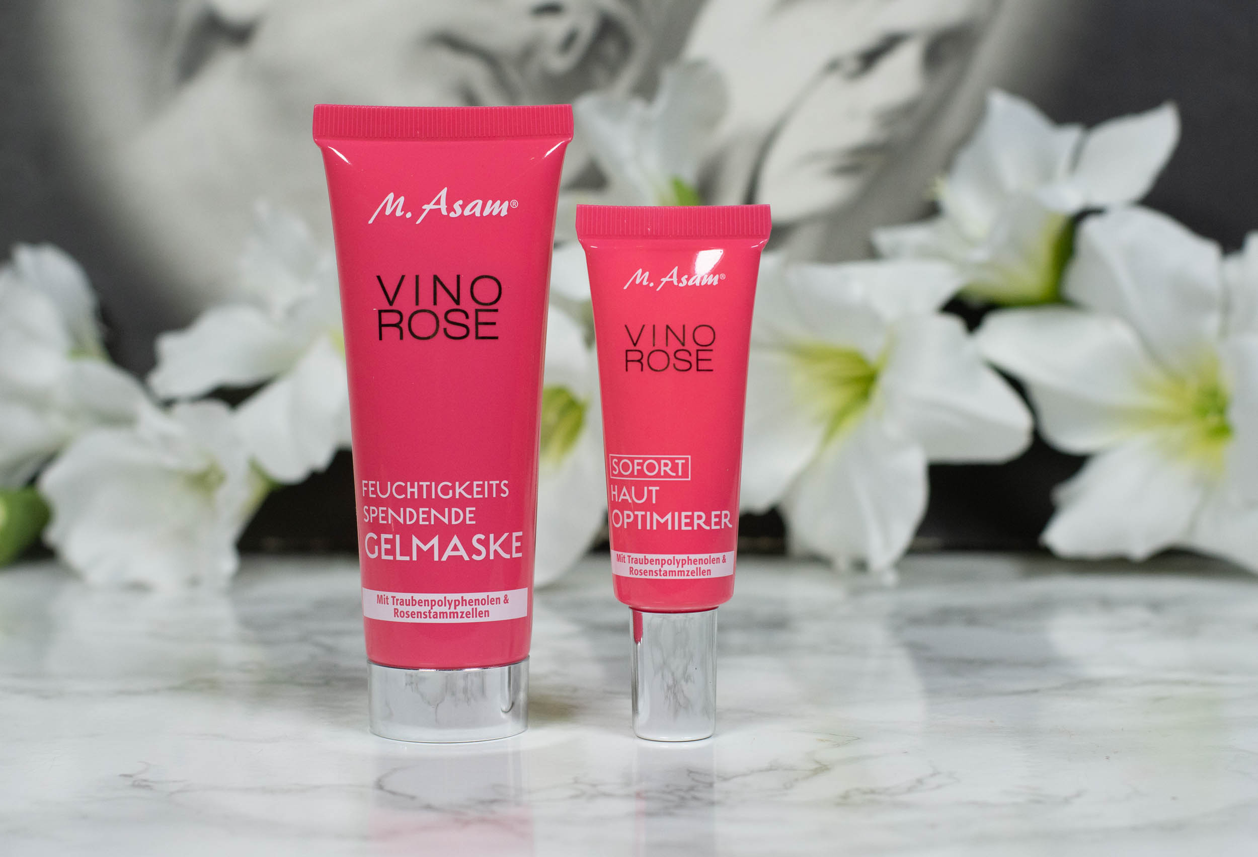 Asambeauty Vino Rose Hydrating Gel Mask and Instant Skin Perfector