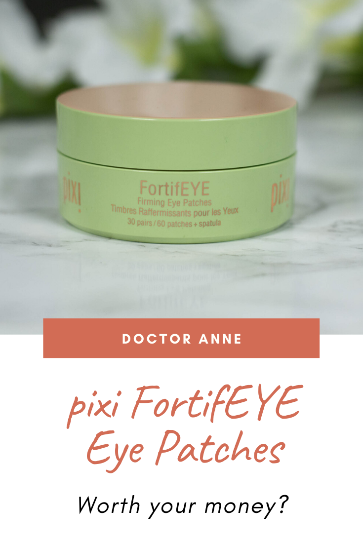pixi FortifEYE Eye Patches Review - How do they compare to the pixi DetoxifEYE ones?