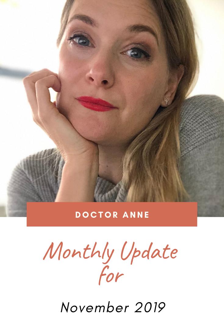 Monthly Recap November 2019