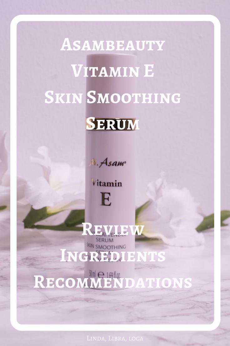 AsambeautyVitamin E Skin Smoothing Serum