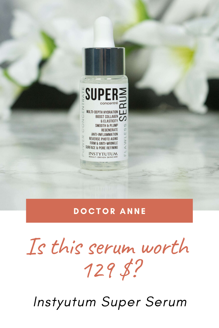 Instytutum Super Serum. Is it really worth the high price tag? Let's look at ingredients, claims and how it performs on the skin.