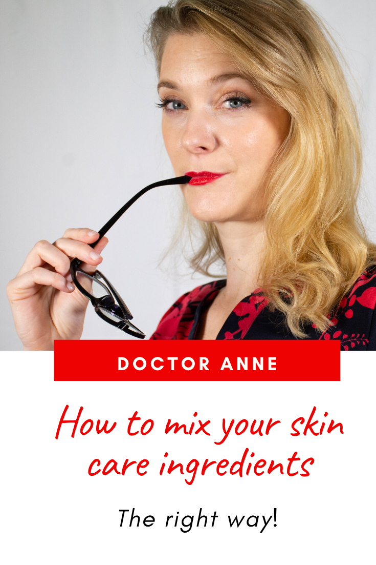 How to mix your skin care ingredients the right way! The basic rules, the dos and don´ts and the important role of texture and pH.