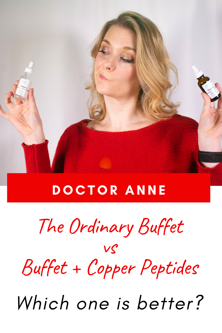 The Ordinary Buffet vs The Ordinary Buffet + Copper Peptides 1% - Which one is better?