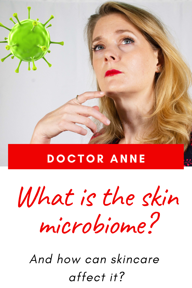 What is the skin microbiome and how can skincare affect it?