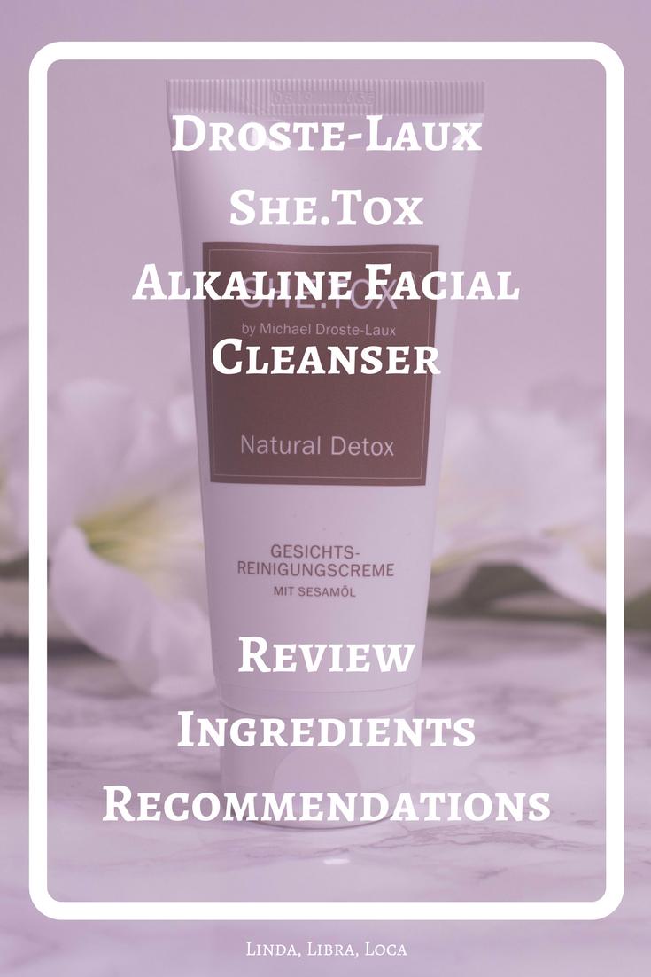 Droste-Laux She.Tox Alkaline Facial Cleanser
