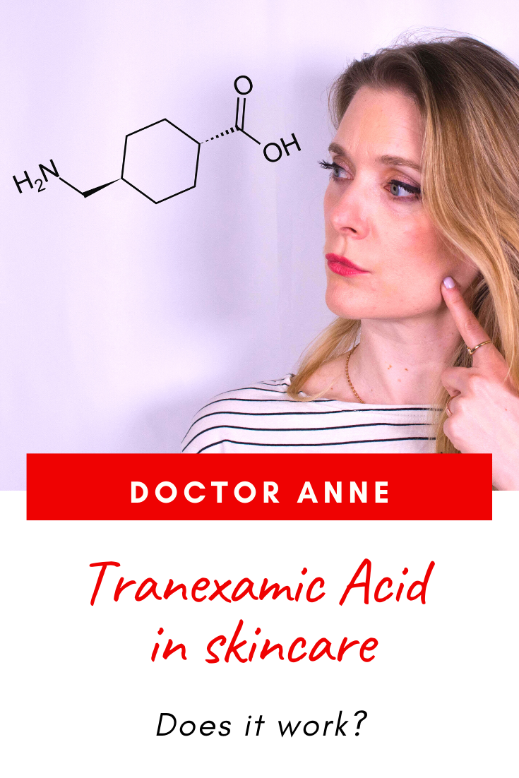 Tranexamic Acid for hyperpigmentation - Does it work?