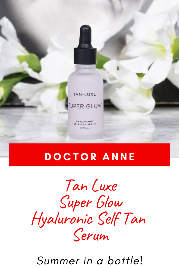 Tan Luxe Super Glow Hyaluronic Face Tan Serum Review