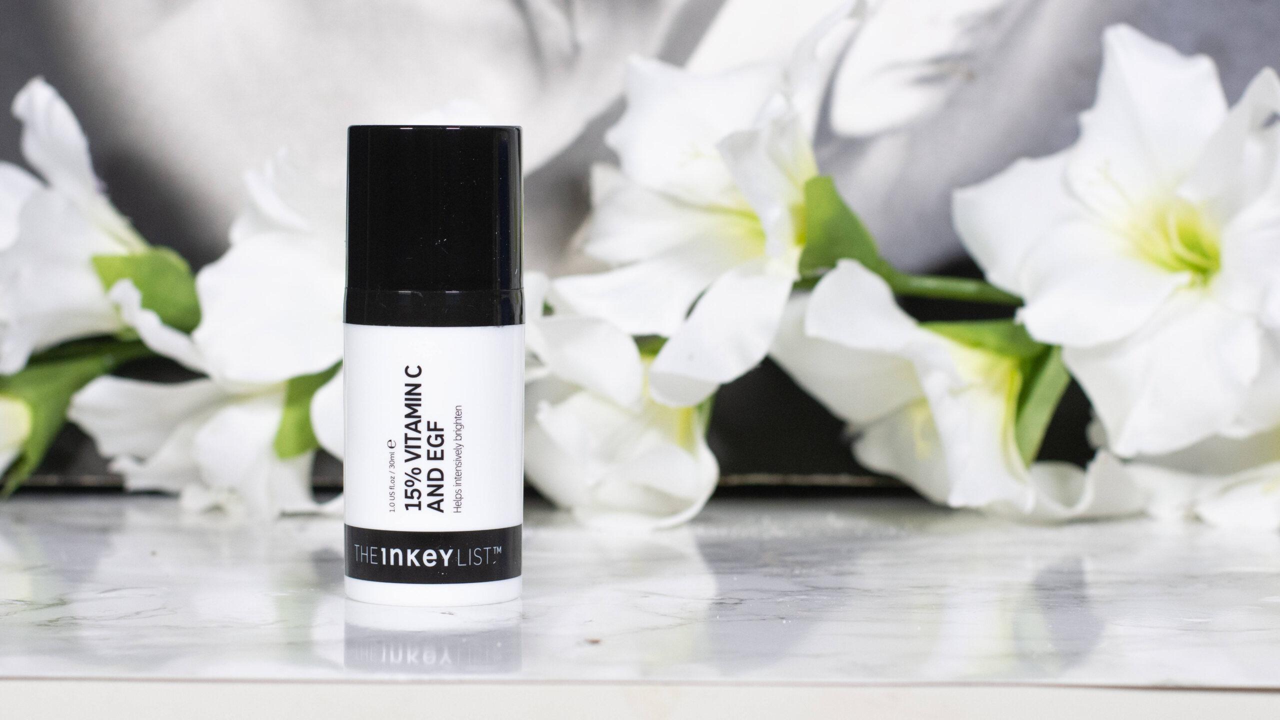 The Inkey List 15% Vitamin C and EGF Brightening Serum Review