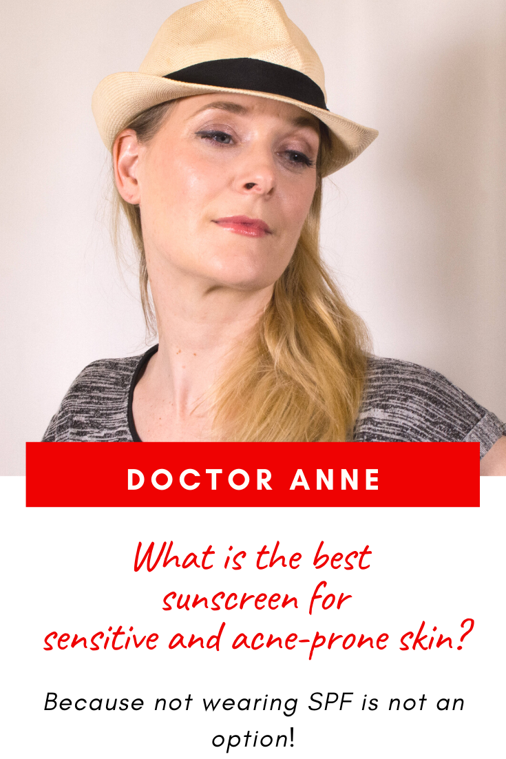 What is the best sunscreen for sensitive and acne prone skin