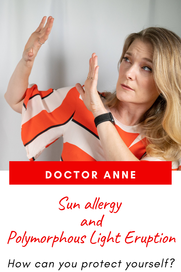 Sun allergy and Polymorphous Light Eruption - causes, cure and prevention