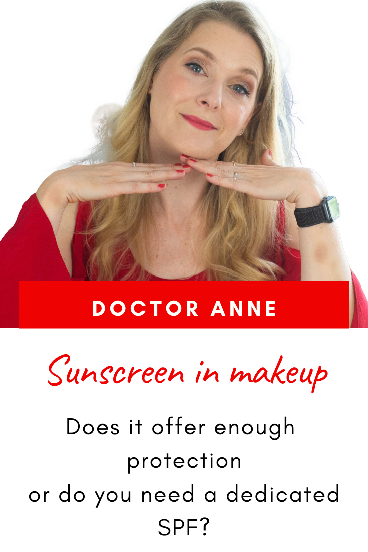 Is the SPF in my makeup enough for adequate protection?