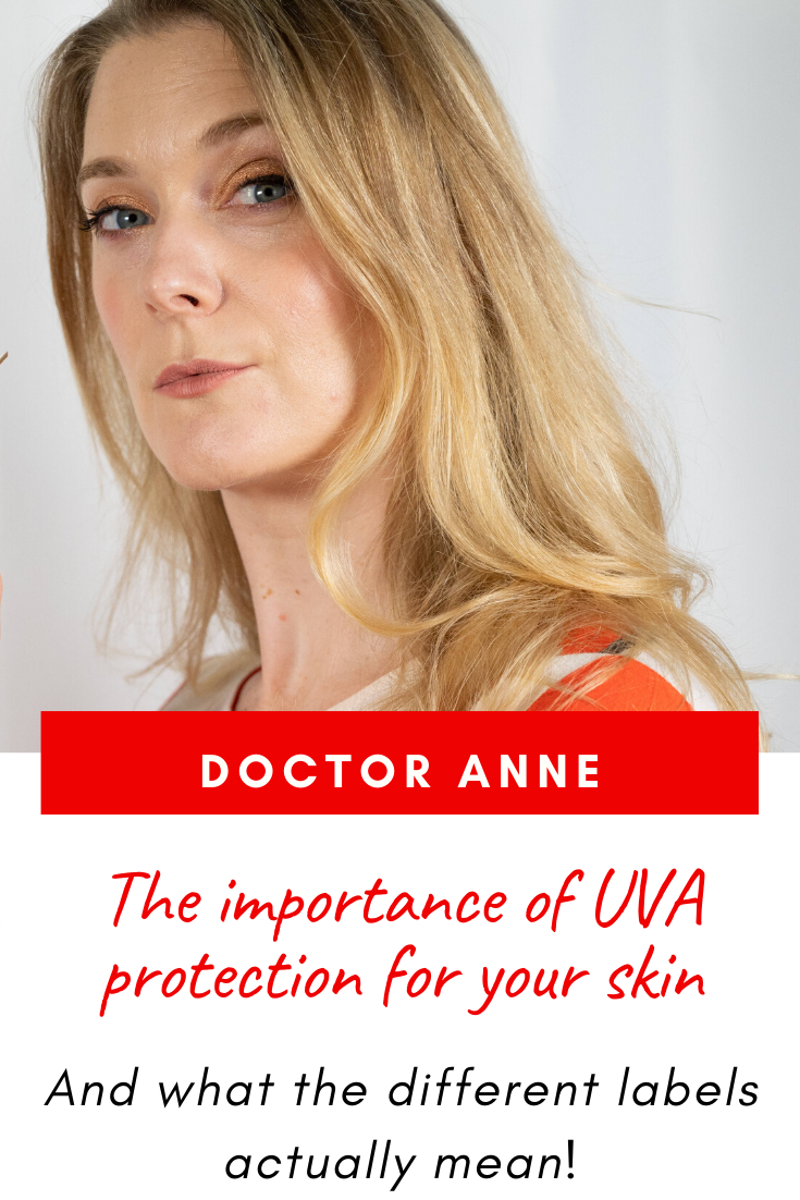Why is UVA protection important and how is it labelled?