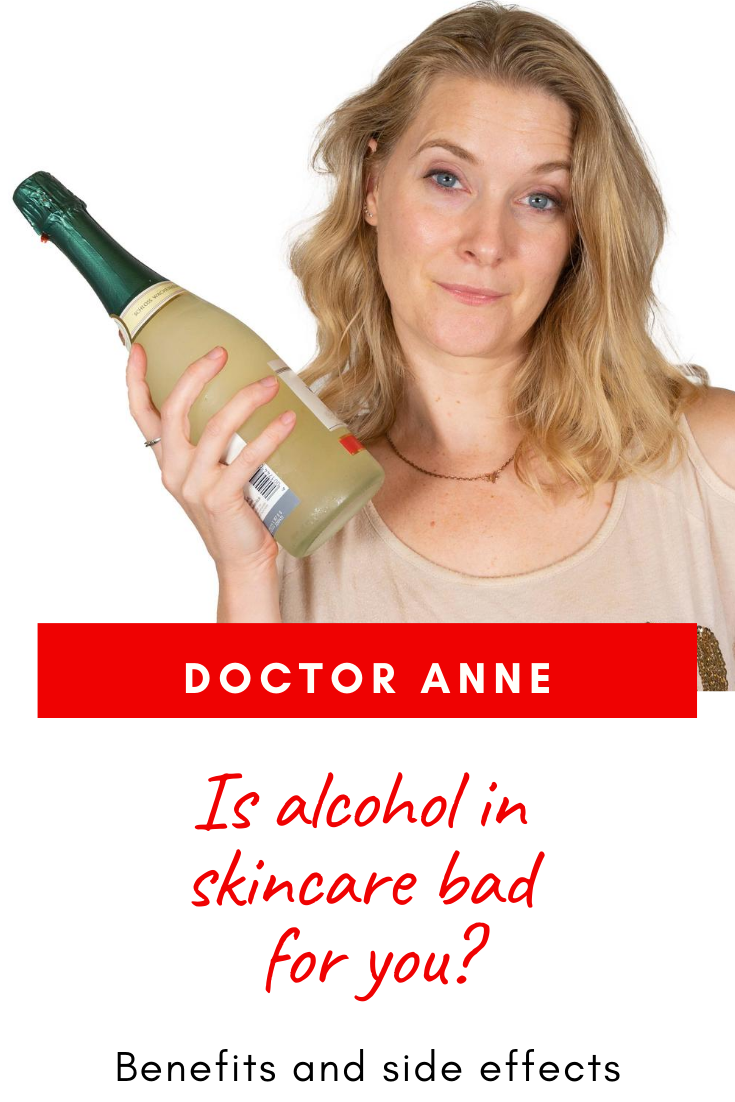 Is alcohol in skincare bad? Benefits and side effects!