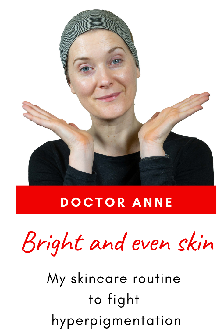 My skincare routine to fight hyperpigmentation